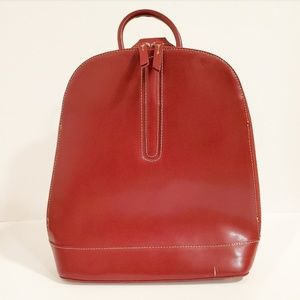 Franklin Covey Red Backpack